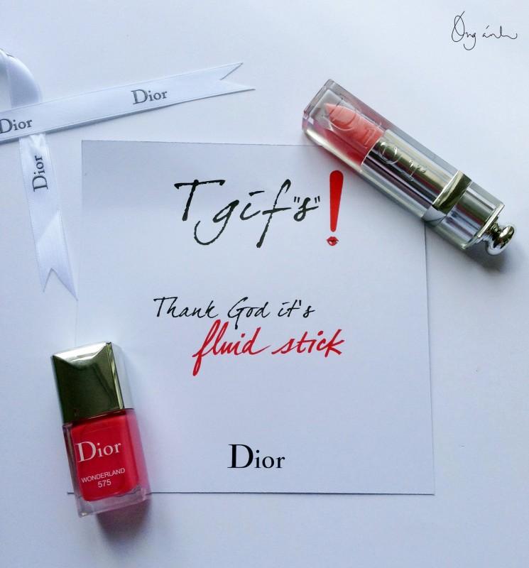 Dior Fluid Stick, son bóng, lipstick, son môi, Óng Ánh