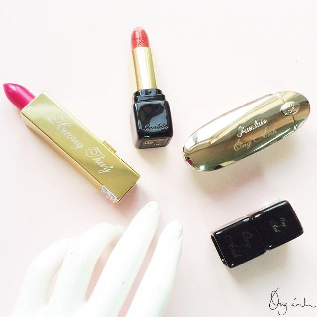 Guerlain, lipsticks, Rouge G, son, mỹ phẩm, trang điểm, Óng Ánh