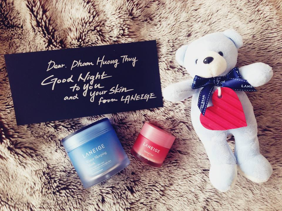 Laneige New Water Sleeping Mask + Lip Sleeping Mask